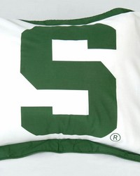 Michigan State Spartans Printed Pillow Sham by