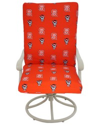 North Carolina State Wolfpack 2pc Chair Cushion by