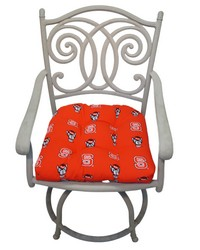 North Carolina State Wolfpack D Cushion 20 in  x 20 in  by