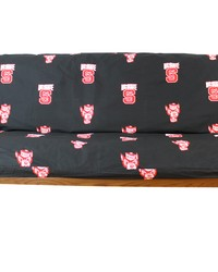 North Carolina State Wolfpack Full Size 8 in. Futon Cover by