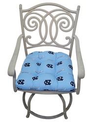 North Carolina Tar Heels D Cushion 20 in  x 20 in  by
