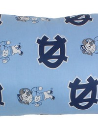 North Carolina Tar Heels Printed Body Pillow  20 in  x 60 in  by