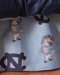 North Carolina Tar Heels Printed Dust Ruffle  Twin by