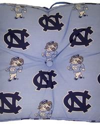 North Carolina Tar Heels Floor Pillow by