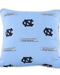 North Carolina Tar Heels Outdoor Decorative Pillow by