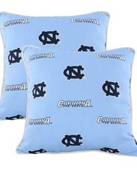 North Carolina Tar Heels Outdoor Decorative Pillow Pair by
