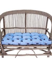 North Carolina Tar Heels Settee Cushion by