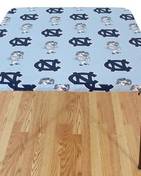 North Carolina Tar Heels Card Table Cover  33 in  x 33 in  by