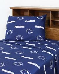 Penn State Lions Sheet Set - Blue by