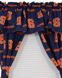 Syracuse Orangemen Printed Curtain Valance  84 in  x 15 in  by