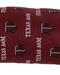 Texas AM Aggies Printed Body Pillow  20 in  x 60 in  by