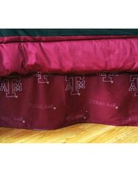 Texas AM Aggies Printed Dust Ruffle  Twin by