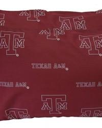 Texas AM Aggies Pillowcase Pair  Solid by