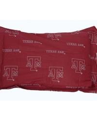 Texas AM Aggies Printed Pillow Sham by