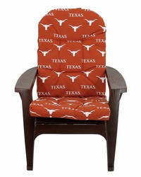 Texas Longhorns Adirondack Cushion by