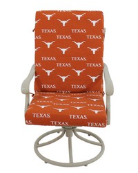 Texas Longhorns 2pc Chair Cushion by