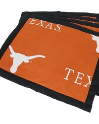 Texas Longhorns Placemat w Border Set  of 4 by