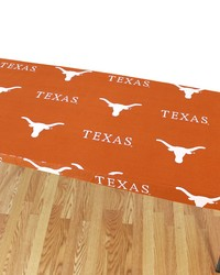 Texas Longhorns 6 Table Cover  72 in  x 30 in  by