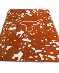 Texas Longhorns Throw Blanket   Bedspread by