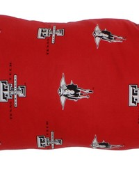 Texas Tech Red Raiders Printed Body Pillow  20 in  x 60 in  by