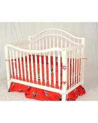 Texas Tech Red Raiders Crib Bedding Set by