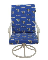 West Virginia Mountaineers 2pc Chair Cushion by