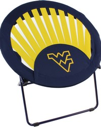 West Virginia Mountaineers Rising Sun Chair by