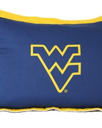 West Virginia Mountaineers Printed Pillow Sham by