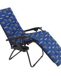 West Virginia Mountaineers Zero Gravity Chair Cushion 20x72x2 by