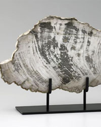 Large Petrified Wood on Stand 02600 by