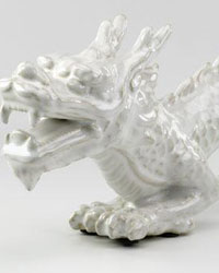 Chinese Dragon Sculpture by