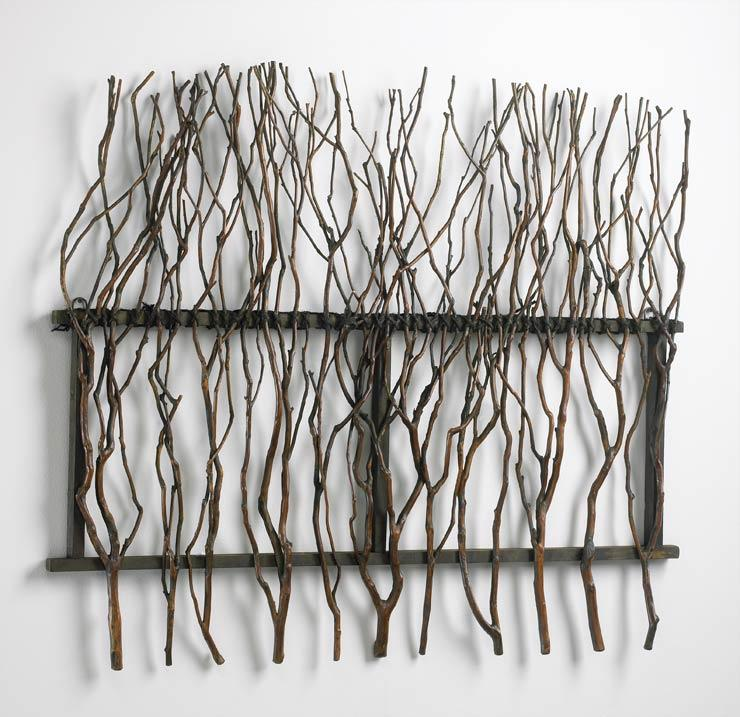 Twig Wall Decor branch wall decor cyan design - interiordecorating