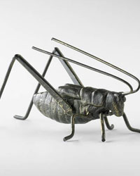 Cricket Sculpture 04351 by