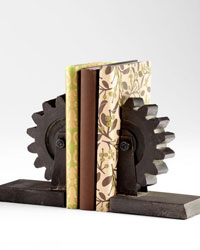 Gear Bookends 05347 by