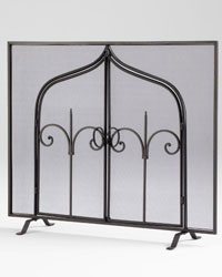 Gate Of Thrones Fireplace Screen by