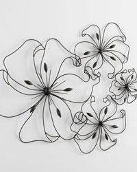 Fancy Flower Wall Art 05832 by