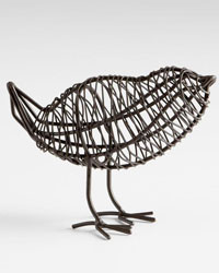 Bird On A Wire Sculpture Small 05836 by