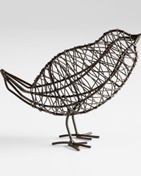 Bird On a Wire Sculpture Large 05837 by