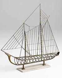 Sail Away Sculpture 06244 by