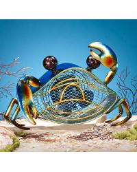 Blue Crab Figurine Fan by