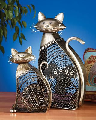 fan fans table fan table fans decorative table fans deco breeze decorative table fan kids fans elephant cat cats cat decor DBF0358 127006 Figurine Fan - Cat Fan  Table  Decorative  Gift  Cat  Animal UPC 84373000257-5