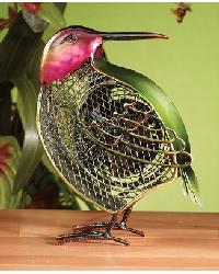 Mini Hummingbird Figurine Fan by