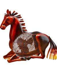 Horse Figurine Fan by