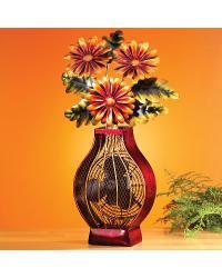 Figurine Fan - Flowers by