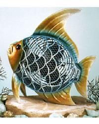 Tropical Fish Decorative Figurine Fan by