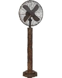 Fir Bark Floor Fan by