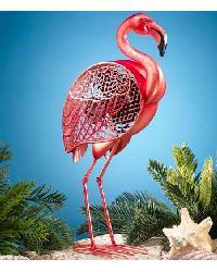 Flamingo Figurine Fan by