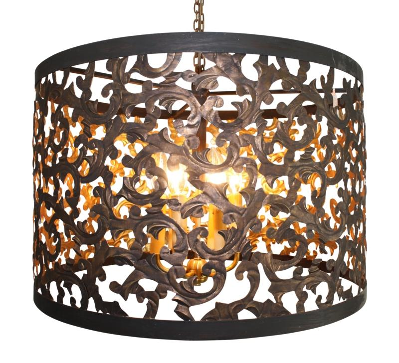 Dark gold cut out acanthus leaf six light chandelier dr livingstone dark gold cut out acanthus leaf six light chandelier dark gold search results mozeypictures Gallery