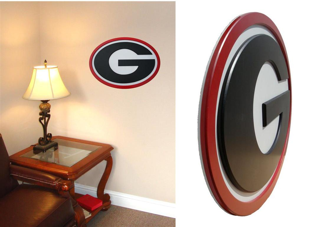 Georgia Bulldogs 31 Inch Wall Art