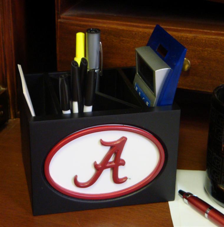 Alabama Crimson Tide Desk Organizer Interiordecorating